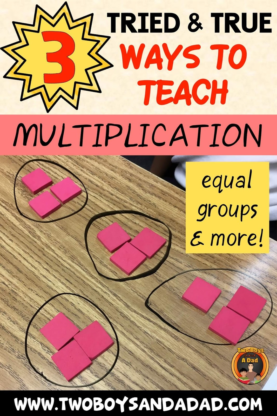 How to teach the concept of multiplication