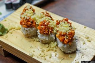 Toro Spicy Maki, Authentic Japanese Cuisine at Nihonbashi Tei