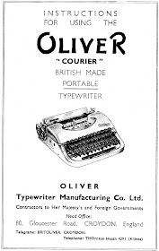 oz.Typewriter: The Old-Age Pensioner and his Oliver