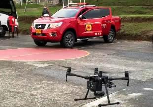 Bomberos Pereira compró 2 drones