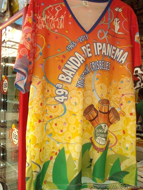 Camiseta da Banda de Ipanema carnaval 2013