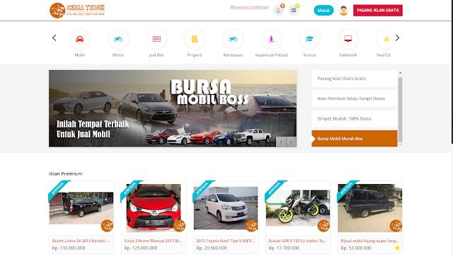 Toko Online Multi Seller Sistem Periklanan