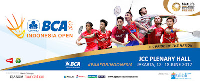 BCA Indonesia Open Super Series Premier 2017