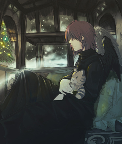A Dark And Cozy Christmas by *Sebychu