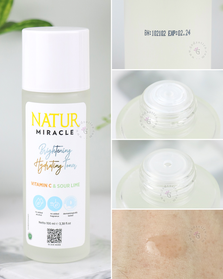 Tekstur Natur Miracle Brightening Hydrating Toner