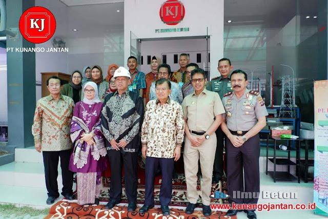 Kunjungan Wakil Presiden M Jusuf Kalla Ke PT. Kunango Jantan