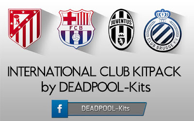PES 2013 International Club Kitpack v2 2016-17 by DEADPOOL-Kits