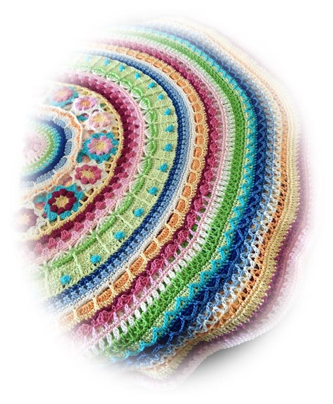 Mandala Decke Teil 9 Jaylyns Nadeltanz