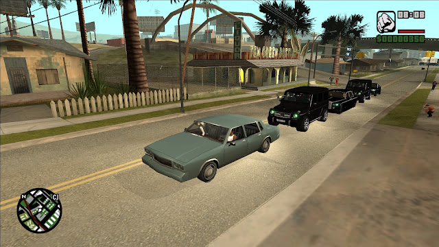 GTA San Andreas Convoy Protections And Vip Mod