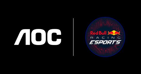 AOC une forças com a Red Bull Racing Esports