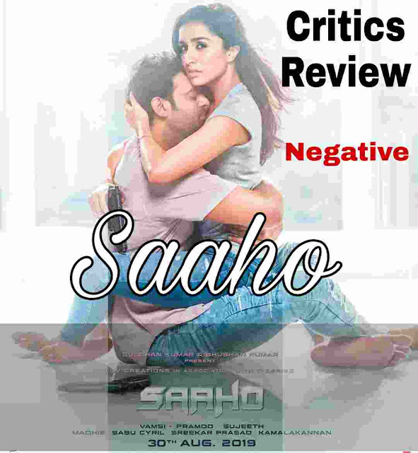 Saaho movie review India