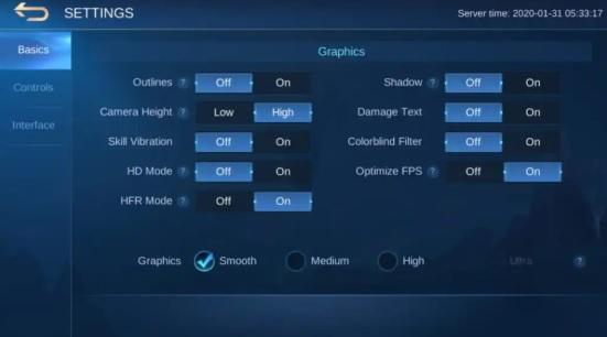 Mobile Legends için en iyi performans ve Grafik ayarları!