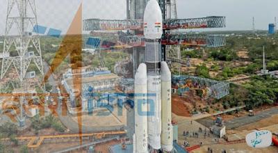 الهند تطلق بنجاح مركبة فضائية غير مأهولة ضمن البعثة الفضائية تشاندرايان-2 نحو القمر