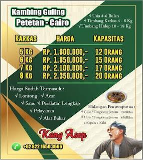 Harga Kambing Guling Muda Bandung 2021,harga kambing guling bandung,kambing guling bandung,kambing guling muda bandung,