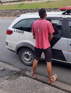POLÍCIA MILITAR PRENDE HOMEM POR VIOLÊNCIA DOMÉSTICA EM CAJATI
