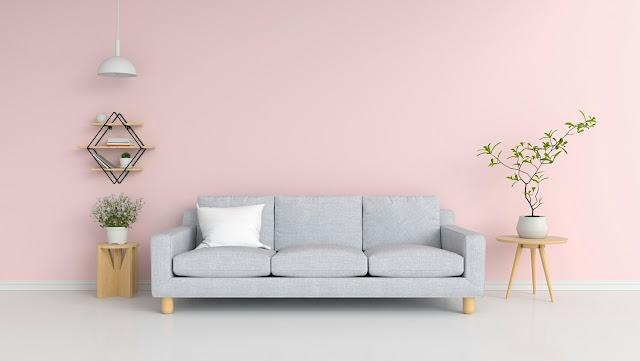 Pastel Pink House Paint