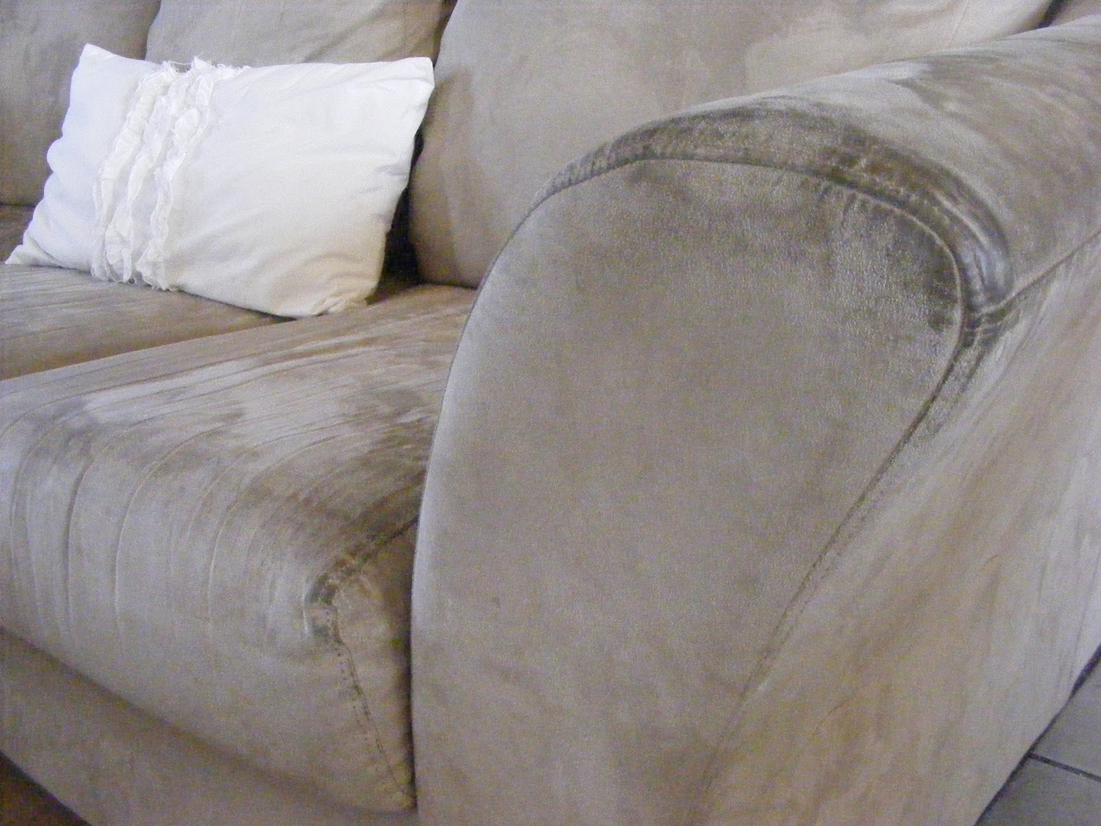 Couch Gross How To Clean A Microfiber Sofa The Complete Guide To Imperfect