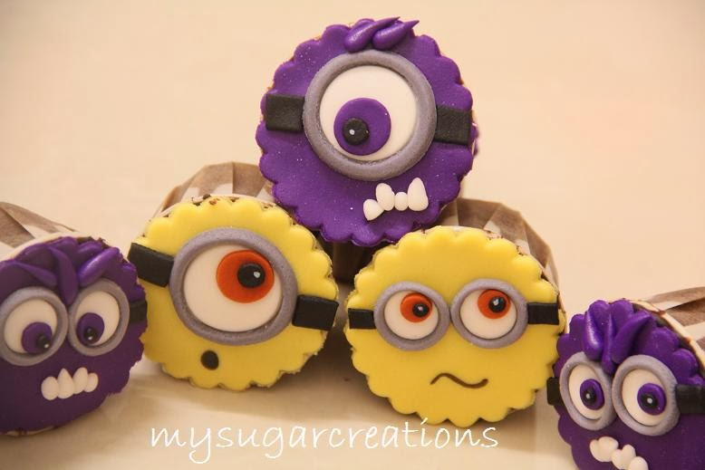 My Sugar Creations 001943746 M Minions Cake And Cupcakes