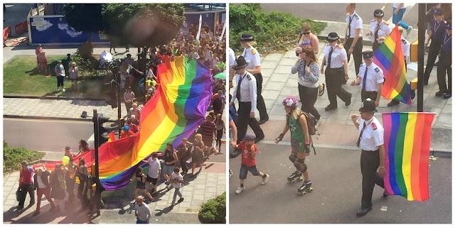 Bristol Pride parade 2015