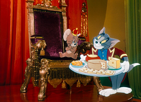 Tom and Jerry in Anchors Aweigh film 1945