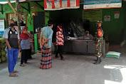 Monitoring Penyaluran Bantuan Sosial Tunai Oleh Babinsa Koramil 12/Manisrenggo di Wilayah Binaan