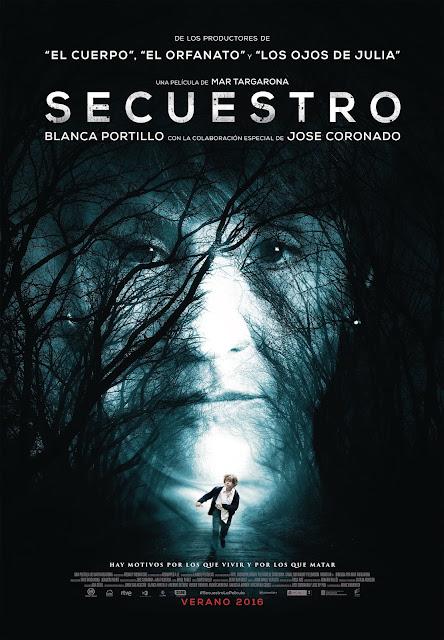 Póster final y nueva fecha de estreno de 'Secuestro'