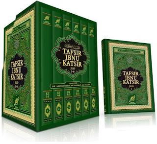 E-Book Terjemah Tafsir Ibnu Katsir Bahasa Indonesia Lengkap 8 Jilid (Juz 1 - 30)