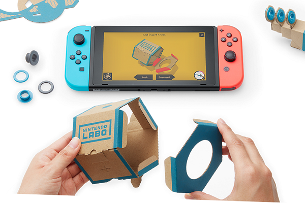 Nintendo Labo interactive build-and-play DIY kits for the Nintendo Switch launched