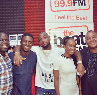 Davido Speaks on Relationship with Girlfriend Chioma on Beat 99.9 Fm.