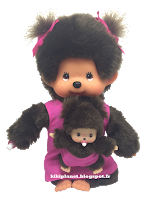 Monchhichi Pink Mother Care 236200