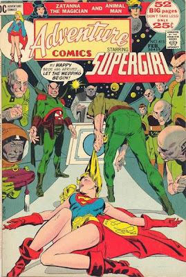 Adventure Comics #415. Supergirl, Animal Man and Zatanna