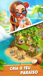 Construa sua própria cidade com uma fazenda no paraíso tropical