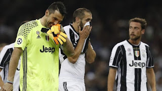 Chiellini explains why Juventus lost the Champions League finals to Real Madrid