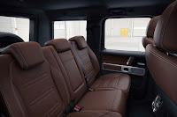 Mercedes-Benz G-Class (2018) Rear Seats