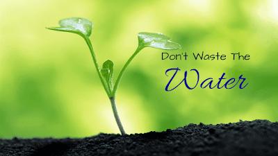 Editorial Save Water News Vision India