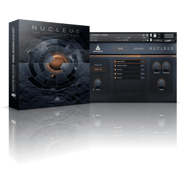 Audio Imperia Nucleus KONTAKT Library