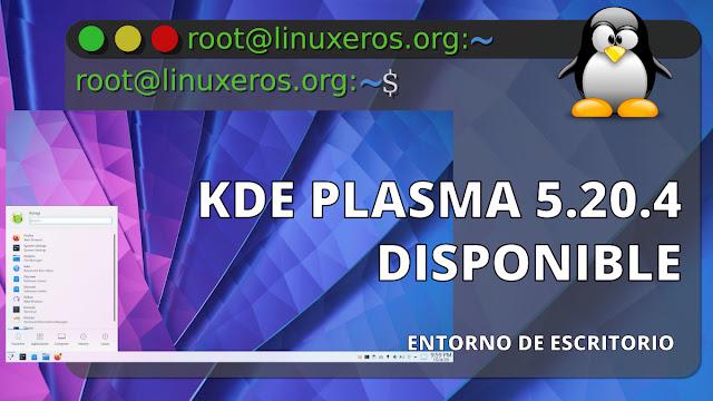 KDE Plasma 5.20.4, con lote de correcciones y mejoras