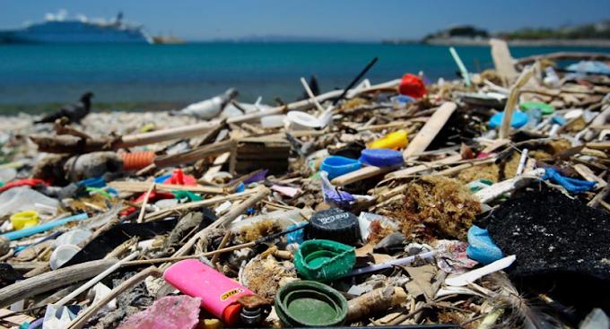 Raccolte oltre 100 tonnellate di plastica nell'Oceano Pacifico