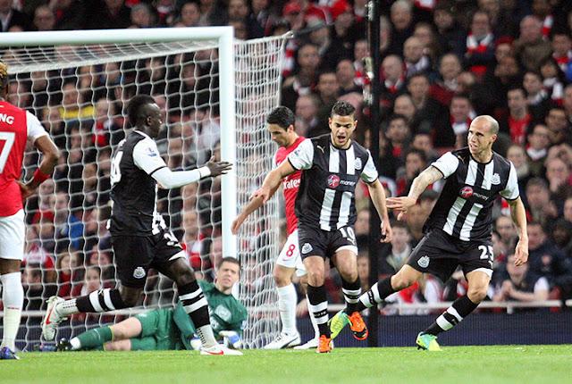 Arsenal vs Newcastle United