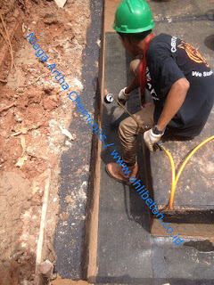 waterproofing pada area GWT