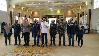 Walikota Syarif Fasha Hadiri Pelantikan Pengurus PWI Pokja Kota Jambi