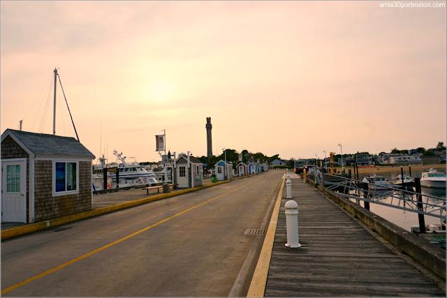 MacMillan Wharf en Provincetown, Cape Cod