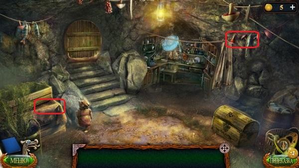 собираем необходимые объекты в игре затерянные земли 4 скиталец