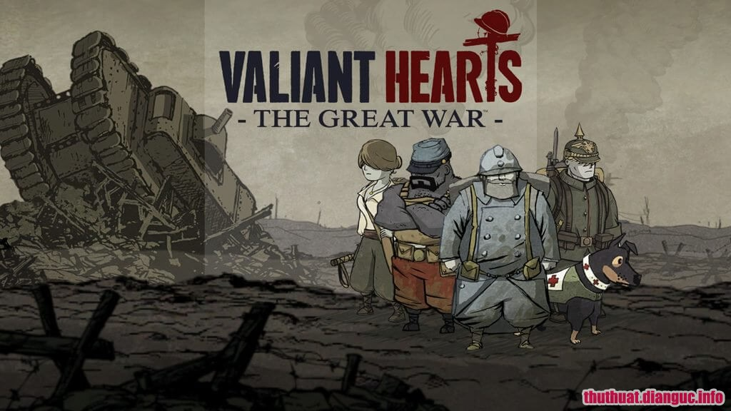 Download Game Valiant Hearts: The Great War Full Crack Việt Hóa