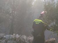 požar Gažul Dol slike otok Brač Online