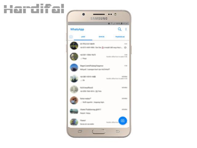 Cara Mengganti Tema Whatsapp Seperti Iphone Untuk Android