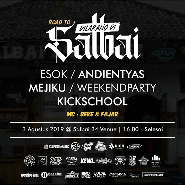 Event Dilarang Di Salbai 3-4 Agustus 2019