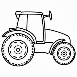 traktor malvorlagen