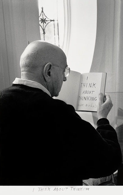 Duane Michals: I think about thinking
