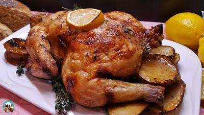 pollo-asado-al-limón